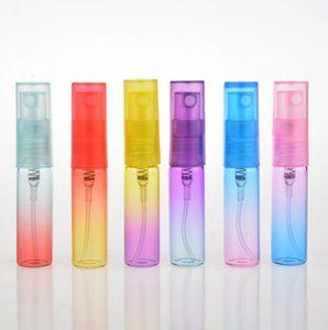5ML السفر السائل غرامة ضباب زجاجة عطر البخاخة إعادة الملء رذاذ قوارير فارغة التجميل شحن مجاني LX2520