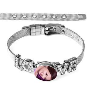 pulseira de botão por sublimação pulseiras de transferência térmica impressão Cruz da jóia personalizado consumíveis atacado