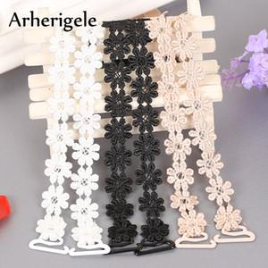 Soutien-gorge élastique pour femmes Arherigele Crochet Floral Sexy Dentelle Soutien-gorge Ceinture Ceinture Épaule Réglable Intimates Accessoires