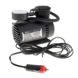 Brand New Portátil 12 V 300PSI Bomba Elétrica Compressor de Ar Do Pneu Inflator para Motocicletas Electromobile Canoeing CEC_010