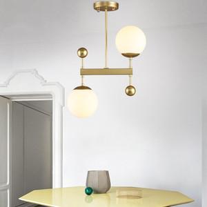 Lampade a sospensione nordiche Lampade a sospensione in vetro Globi Hanglamps Lampade Illuminazione da interni Luminari Lampada da soffitto lustre