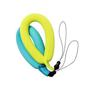 Correa de neopreno pulsera de la venda de natación flotante para la muñeca para aire libre bajo el agua GoPro cámara del teléfono móvil Tela pulseras del encanto