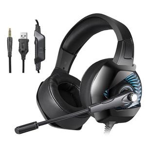 الصمام الخفيفة الألعاب سماعة 3.5 ملليمتر usb سلكية عبة سماعة سماعات الإفراط في الأذن سماعة مع الضوضاء الحد ميكروفون ل xbox one pc جديد ps4 ألعاب