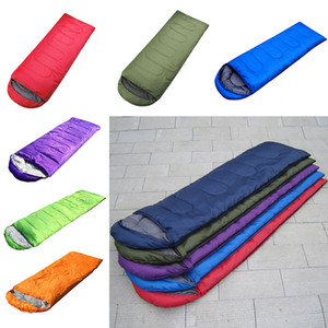 Neue Decke Outdoor Schlafsäcke Erwärmung Single Schlafsack Casual Wasserdichte Decken Umschlag Camping Reise Wandern Schlafsack WX9-205