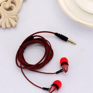 3,5-mm-In-Ear-Stereo geflochtene Ohrhörer Kopfhörer für iPhone 6 plus 5 für Samsung
