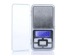 Nueva 500g / 0.1g Mini balanza electrónica digital de bolsillo Función de conteo de balanzas para joyas LCD azul g / tl / oz / ct