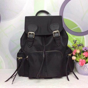 mochila de lona impermeable para la bolsa de la mujer hombro mochila moda al por mayor clásico del bolso del paquete presbicia bolsa de mensajero dama