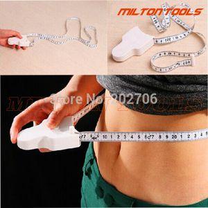 White color 150cm/60inch Accurate Fitness Caliper Measuring Body Tape Measure 50pcs/lot