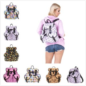 Nuovo 3D Digital Full Printing Unicorn Vintage Zaini Borse Kids School Bag Studente Viaggi Double Pocket zaino 32 * 36cm