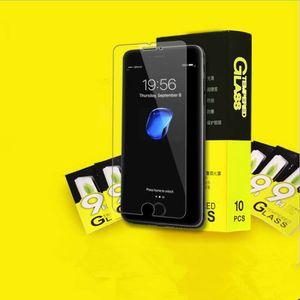 Protetor creen para iPhone X e iPhone 8/7 / 7S 6 6S, filme de vidro temperado