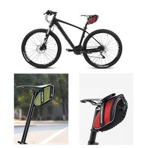 Yağmur geçirmez Bisiklet Eyer Çantası Darbeye Bisiklet Bisiklet Arka Seatpost Çantası MTB Dağ Bisikleti Aksesuarları