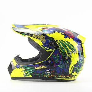 DOT aprovação Mais novos suprimentos de esportes Marca do capacete da motocicleta que compete ATV Motocross Capacetes MenWomen Off-Road Capacete extremos