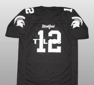 Maillot Hommes # 12 Andrew Luck Stratford High School College taille s-4XL ou maillot nom ou numéro