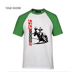 R1200 GS Men's TShirt Fashion New Top Tee shirts Custom T Shirt 1200 GS T-SHIRT Motorrad motorcycles 100% Cotton Tshirts Tees Polos