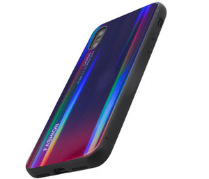 Fashion Phone Case For IphoneX,Toughened Glass+TPU Material Cellphone Case,Ultra-thin and Soft,Delicate Hand Feeling, 360 Degree Protection.