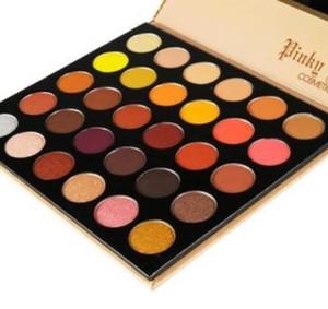 Pinky Rose Cosmetics RUSTIC ROSE Sombra de ojos 30 colores Maquillaje Paleta de sombras de ojos Natural Brighten Envío gratuito de larga duración