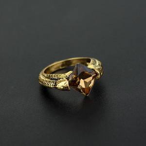 Moda Anel Horcrux Ressurreição Anéis de Pedra Relíquias da Morte Anéis Fãs Moda Jóias Will and Sandy Transporte da gota