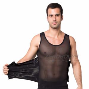 Waist corsets Men Undershirts mens bodysuit vests compression undershirt Slim singlet Slim Beer belly slimming corset