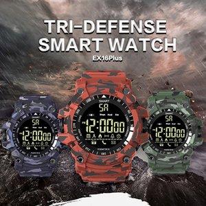 Correndo Fitness Android Smart Watch Sports para Remoto Ex16 Câmera Plus Rastreador Impermeável Tecnologia Wearable Wretabl WristWatch IP67 Bluetooth Wrcr