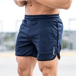 Bodybuilding Workout Hombre Pantalones cortos de moda Muscle Aesthetics 2018 Pantalones cortos de verano casual para hombres Pantalones de chándal sexy Fitness para hombres