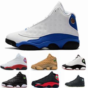 Mens 13 13s black cat Hyper Royal olive Wheat GS Bordeaux DMP Chicago men women basketball shoes 13s sports Sneaker