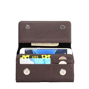 Toptan Doogee Mix Lite / DG550 Yatay Bel Kılıf Çanta Kart Yuvaları Ile Manyetik Kılıfı Litchi desen Kapak