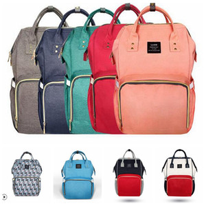 Diaper Bags Brand Baby Backpacks Maternity Mom Nappies Outdoor Large Desinger Nursing Fashion Stollers Hangbag Bags YL64-3 Travel Rtknh