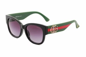 Yeni stil büyük çerçeve setleri elmas güneş gözlüğü 0218 küçük arı üç renk gözlük ağ güneş gözlüğü