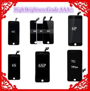 (المنتجات الراقية) عدسة مكبرة عالية الجودة من الدرجة A +++ شاشة LCD تعمل باللمس محول الأرقام آيفون 5SE 6 6 زائد 6S 7 7 زائد 8 8 زائد