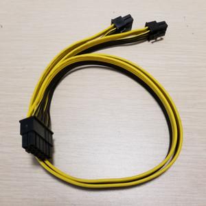 Modüler Güç Kaynağı Kablosu 12Pin AX650 AX750 AX850 için 2 x 6Pin 50cm