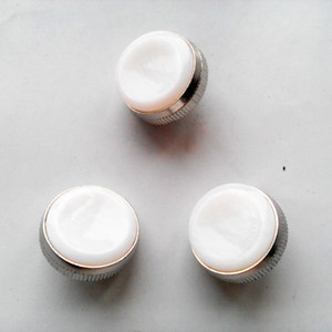Trumpet Valve Finger Buttons Repair Parts 3 Pieces White Pearl Buttons Musical Instrument Accessories Free Shipping