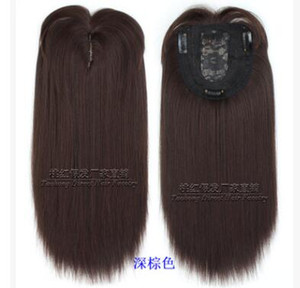 Quest'anno il nuovo tipo di capelli ombreggiatura per capelli bianchi in alto blocco di ricambio Liu Haifa pad capelli Topper Factory Direct Sales