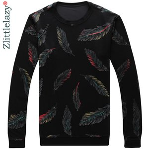 Sweaters Designer 41241 Feather Jersey Slim Dress Thin Men Pullover Knitwear Mens 2021 Sweater Fit Knitted Fashion Clothing Wear Uhwje