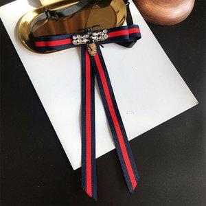 Estilo da faculdade bowtie Gravata das mulheres Festa de Casamento Poliéster Listrado bowknot Clássico Gravata Gravata bowties Camisa Acessórios