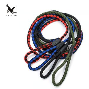 Sturdy Nylon Dog Leash for Small Medium Large Dogs - Durable and Thick Nylon Rope Length 150cm and Diameter 1.2cm 4 Colour Select