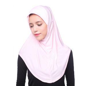 Mujeres musulmanas Hijab interior del casquillo del pañuelo islámico completo sombrero de la cubierta Underscarf Headwear chal
