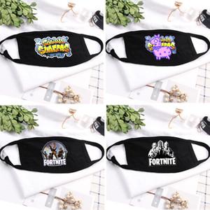 Cosplay ağız Maskeleri Toz Geçirmez Solunum Kış Pamuk Maske Mens Açık Sıcak Maskeleri Masquerade Maskesi 18 Stilleri