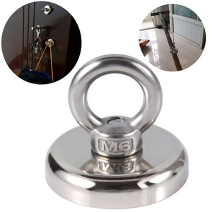 Recovery Magnet Hook Strong Sea Fishing Diving Treasure Hunting Metal Detector Searching Rails handling Tools