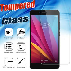 Protetor de tela de vidro temperado prémio à prova de explosão 9 h premium para huawei ascend g9 p9 p10 plus honra v8 8 lite 5a nova 2 plus y7