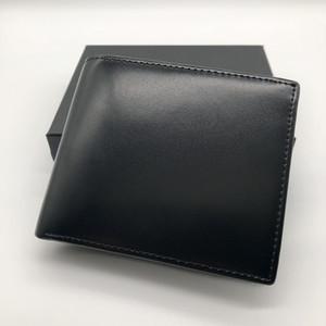 Portafogli in pelle corta portafoglio da uomo in pelle di lusso popolare Portafoglio MB portafogli in carta di credito porta carte di credito foto M B BOX portafoto