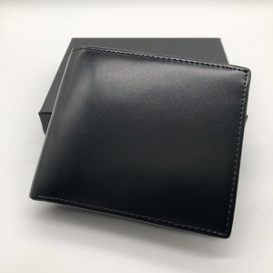 Luxus-populäre Männer Leder kurze Clip Brieftasche Clip MT Brieftasche MB Designer Brieftasche Kreditkarteninhaber Tasche Foto M B Fotorahmen BOX
