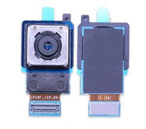 Lenti per fotocamera posteriore per Samsung Galaxy S5 S6 S6 Edge S7 S7Edge S8 S9 + Plus Parti posteriori per cavo flessibile per fotocamera posteriore grande posteriore