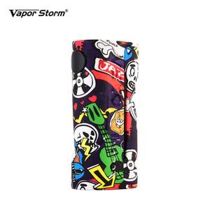 전자 담배 상자 Mod Vape 증기 폭풍 ECO Max 90W 낙서 색상 Bypass 모드 510 배터리없이 지원 스레드 RDA RDTA