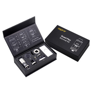 Promotions !!! Aspire Quad-Flex Power Pack avec alimentation par le fond RDTA RDA (squonker) dans un kit 100% original DHL / UPS livraison gratuite