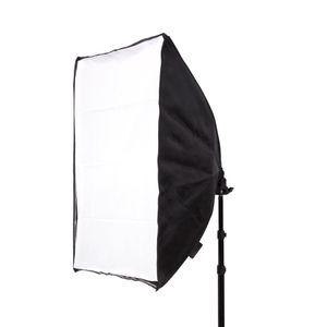 50 * 70 CM Photography Studio Wired Softbox titular de la lámpara con E27 zócalo para el estudio de iluminación continua con bolsa de transporte
