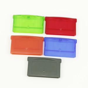 Cartucho de juego Caja de la carcasa Cubierta de la cubierta con tornillo para GBA GBM GBA SP NDS NDSL Caja de almacenamiento de cartucho de alta calidad NAVE RÁPIDO