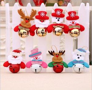 Cloche De Noël Arbre De Noël Décoration Arbre Ornements Petite Cloche Ameublement Suspendu Décoration cadeaux pour enfants