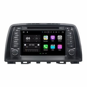 "2 Go de RAM Quad Core 8 ""Android 7.1 Lecteur DVD de voiture Lecteur DVD de voiture audio pour Mazda 6 2012 2013 2014 2014 avec radio GPS WIFI Bluetooth 16GB ROM DVR"
