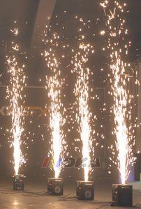 4 Beutel / Los Metallpulver für die Stufe Kaltfunken Brunnen Feuerwerk Maschine 200g / bag im Freien oder Innen Pulver für Hochzeitsdekoration