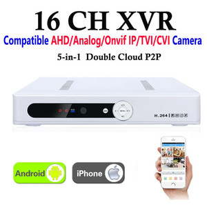 CCTV 16Channel XVR Video Recorder All HD 1080P 8CH Super DVR Recording 5-in-1 support AHD Analog Onvif IP TVI CVI Camera